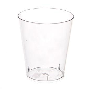 Copo em Acrilico Cristal 40 ml. S/TP Plastilania Cx C/ 1.000 Un.