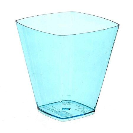 Copo em Acrilico Azul 50 ml. S/TP Plastilania C/ 10 Un.