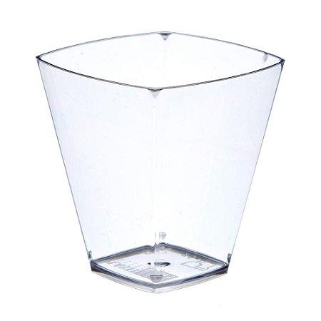 Copo em Acrilico Cristal 50 ml. Plastilania C/ 10 Un.