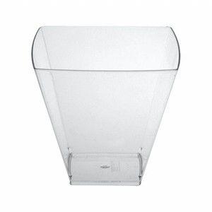 Copo em Acrilico Cristal 151 ml. S/TP Plastilania Cx C/ 1.000 Un.