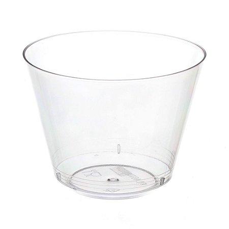 Copo em Acrilico Cristal 180 ml. Plastilania C/ 10 Un.