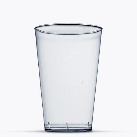 Copo em Acrilico Cristal 400 ml. Plastilania Cx C/ 400 Un.