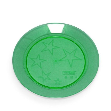 Prato em Acril 15 Cm Red. Verde Plastilania C/10 Un.