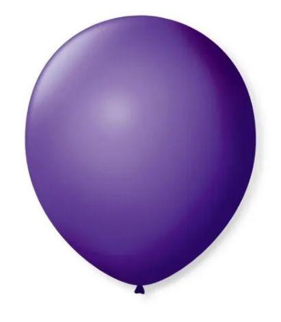 Balão Nº 7 Roxo Uva São Roque C/ 50 Un.