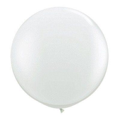Balão Big Liso Branco Santa Clara Un.