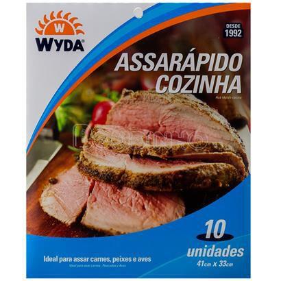 Assa Rápido Cozinha 41X33 Cm Wyda C/ 10 Un.