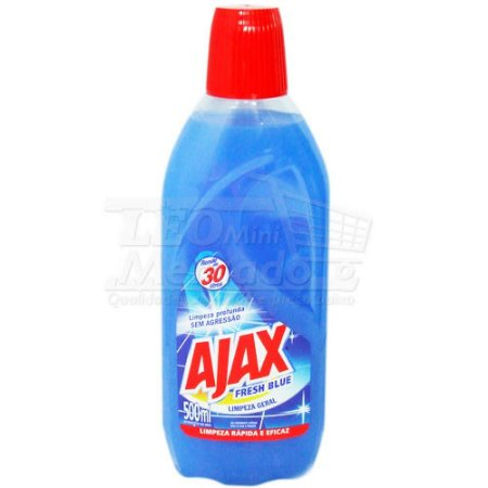 Desinfetante Fresh Blue Ajax C/ 500 Ml