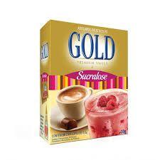 Adoçante em Sache Gold Sucralose Cx C/ 50 Un.