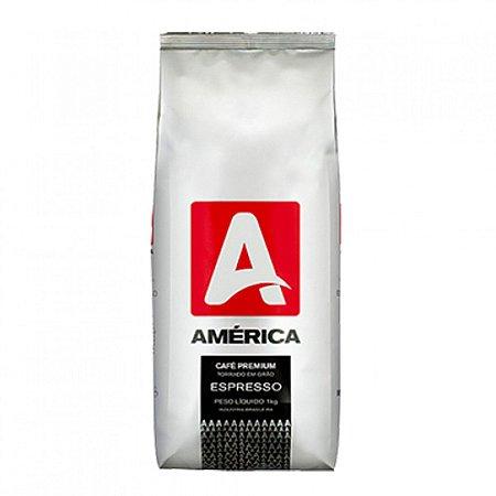 Cafe Espresso Grão America C/ 1 Kg