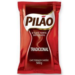 Cafe Pilão Tradicional Pouch C/ 500 Gramas