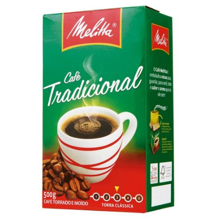 Cafe Melitta a Vácuo C/ 500 Gramas