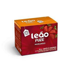 Chá Morango Leão Cx C/ 15 Saches