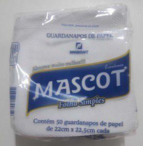 Guardanapo Mascot F.S 22X22,5 Cm Cx C/ 3.600 Un.