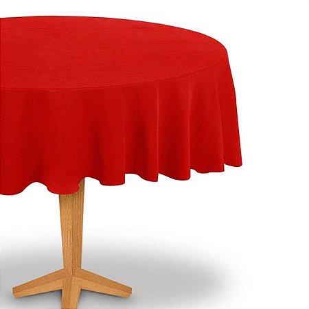 Toalha de Mesa Red. Vermelha Festcolor 2,13m Un.