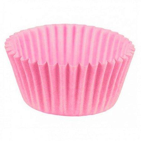Forma P/ Mini Cupcake Rosa Bebe Mago C/ 45 Un.
