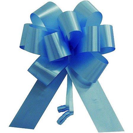 Laço Pronto Flor Super Azul Claro Interfitas Un.