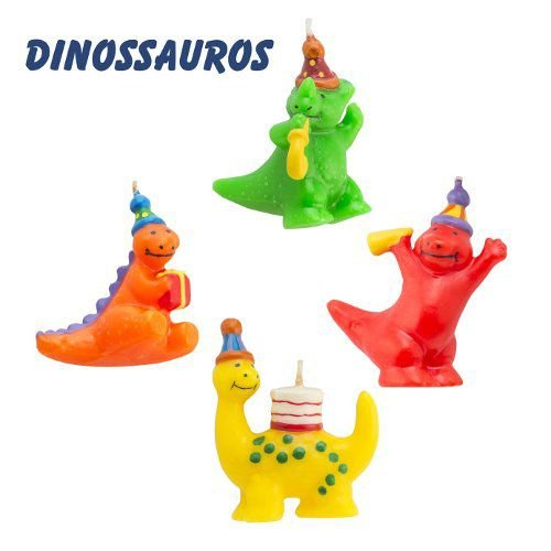 Vela Dinossauros Mundo Bizarro Un.