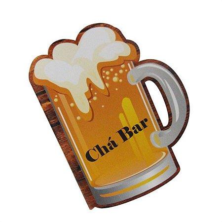 Convite Chá Bar chopp C/ 8 Un.