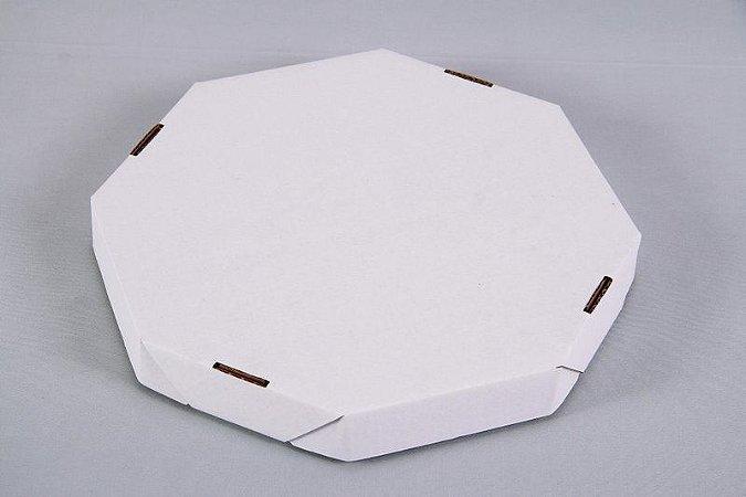 Caixa Pizza Oitavada 36x36x5Cm Un.