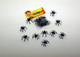 Mini Aranha de Plastico Chocomar C/ 8 Un.