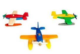 Mini Avião de Plastico Chocomar C/ 6 Un.