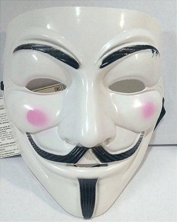 Mascara Personagem V Un.