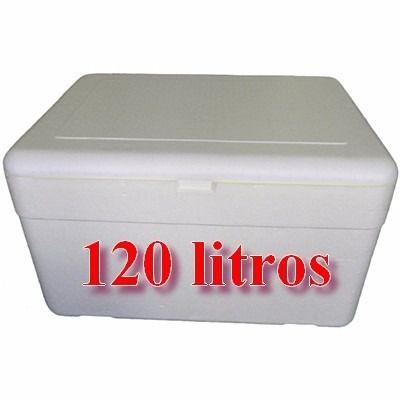 Caixa de Isopor 120 Litros Goldpac Un.