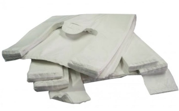 Sacola Plast. Branca Reciclada 50x70 Fd C/ 5 Kg