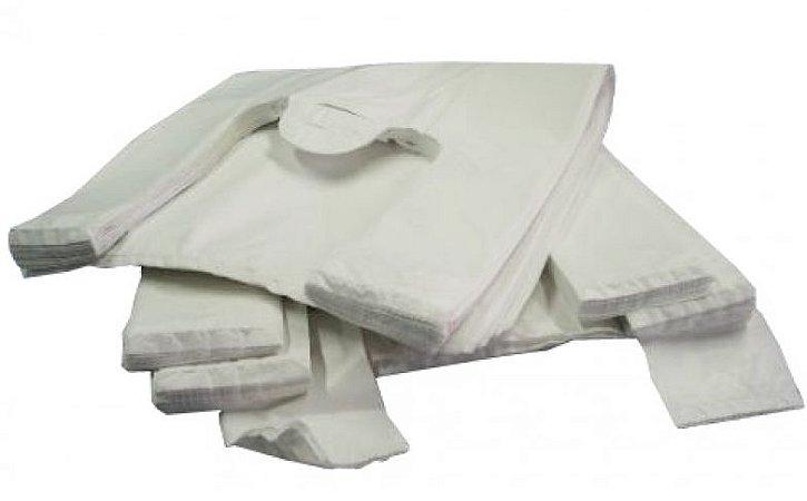 Sacola Plast. Branca Reciclada 60x80 Fd C/ 5 Kg