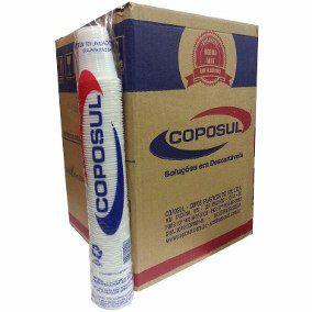 Copo Descartável 180 ml. Branco Coposul ABNT Cx C/ 2500 Un.