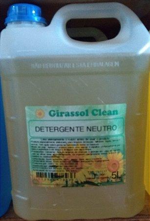 Detergente Girassol Clean C/ 5 Lts