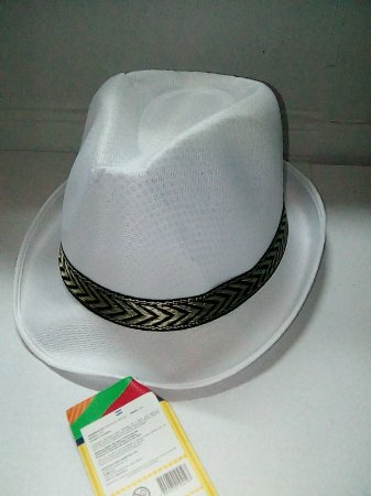 Chapéu Malandrinho Branco Un.