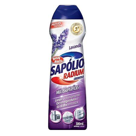 Sapólio Cremoso Lavanda C/ 300 Ml