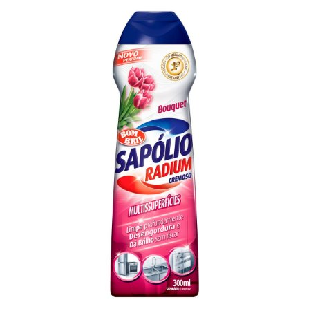 Sapólio Cremoso Bouquet C/ 300 Ml