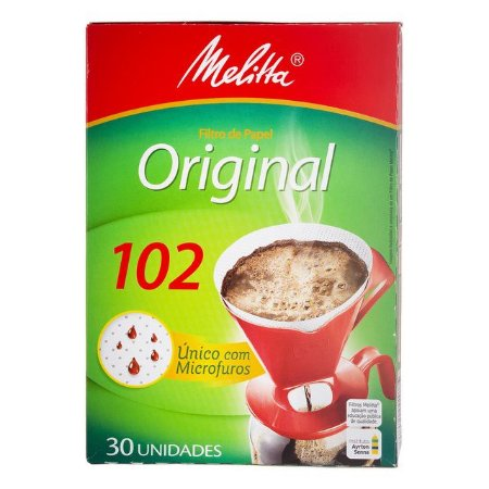 Filtro P/ Cafe Melitta 102 C/ 30 Un.