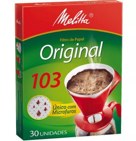 Filtro P/ Cafe Melitta 103 C/ 30 Un.