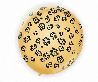 Balão 9.0 Safari Onça São Roque C/ 25 Un.