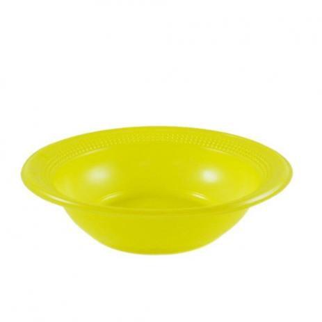 Cumbuca Descart. 15 cm Amarela Trik c/ 10 un.