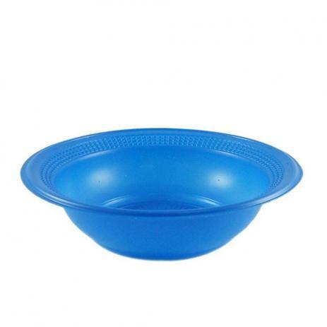 Cumbuca Descart. 15 cm Azul Trik c/ 10 un.