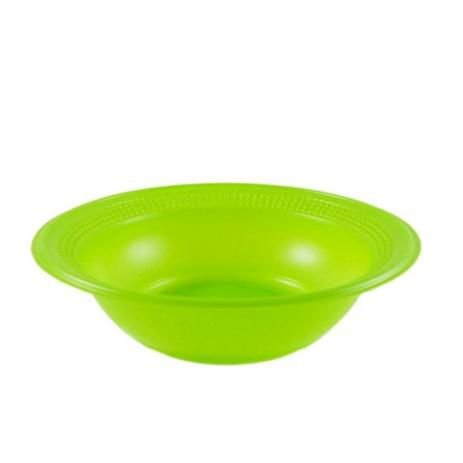 Cumbuca Descart. 15 cm Verde Trik c/ 10 un.