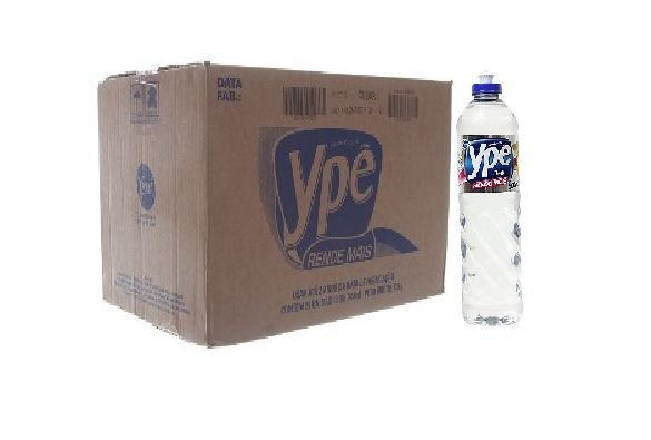 Detergente Ypê Clear 500 Ml Cx C/ 24X500 Ml.