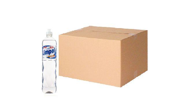 Detergente Limpol Cristal 500 Ml Cx C/ 24X500 Ml