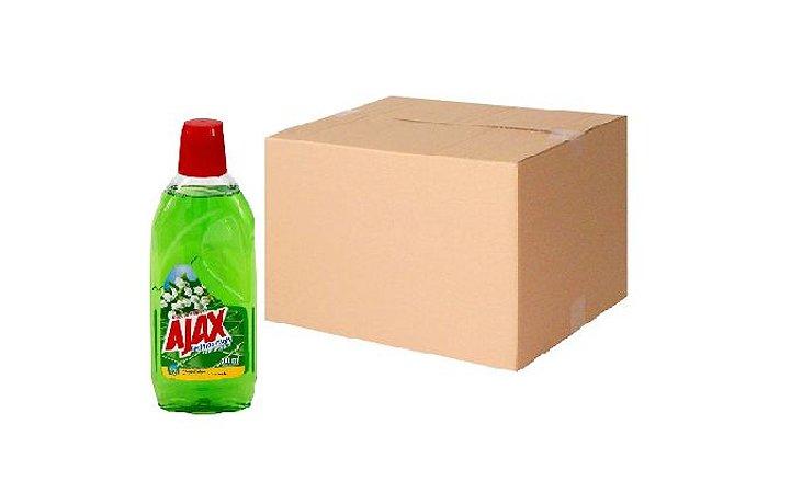 Desinfetante Flores Do Campo Ajax Cx C/ 12X500 Ml