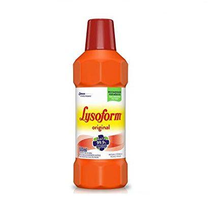 Desinfetante Lysoform Bruto Original C/ 500 Ml