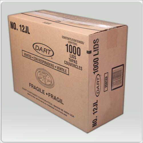 Tampa Pote Térmico 180 Ml (12JL) Dart Cx C/ 40X25 Un.