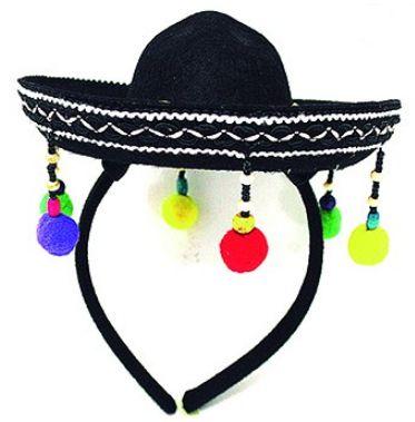 Tiara Chapéu Mexicano Para Festa Un.