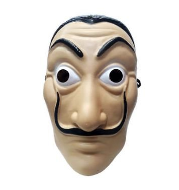 Máscara La Casa De Papel Un.