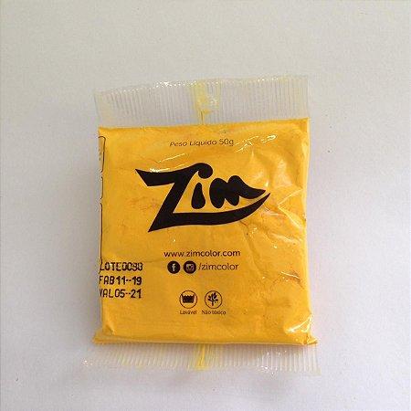 Pó Colorido Amarelo 50Gr Zim Un.