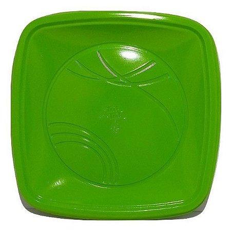 Prato 21 Cm (QD) Verde Escuro Trik C/ 10 Un.