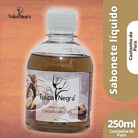 SABONETE LIQUIDO TULIPA NEGRA CASTANHA DO PARA 250 ML